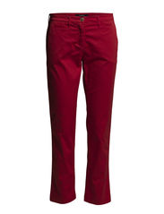CLASSIC CR COIN POCKET CHINO - ROYAL RED
