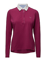 SOLID JERSEY LS RUGGER - RASPBERRY PURPLE