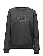GANT C-NECK SWEAT - ANTRACIT MELANGE