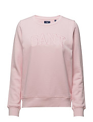 GANT C-NECK SWEAT - CALIFORNIA PINK