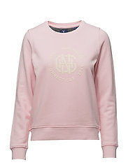 O1. GNH C-NECK SWEAT - CALIFORNIA PINK