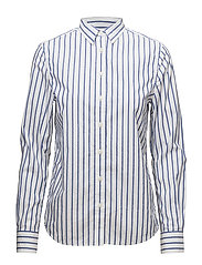 OP2. BARRÉ STRIPE SHIRT - YALE BLUE