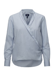 O2. WRAP SHIRT - HAMPTONS BLUE