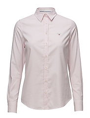 STRETCH OXFORD BANKER - LIGHT PINK