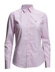 STRETCH OXFORD GINGHAM - LIGHT PINK