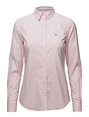 STRETCH OXFORD SOLID SHIRT - LIGHT PINK