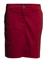 CLASSIC COIN POCKET SKIRT - ROYAL RED