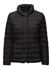 LIGHT WEIGHT DOWN JACKET - BLACK