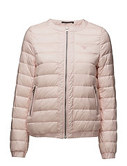 O1. LIGHT WEIGHT DOWN BLOUSON - BARLEY PINK