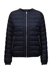 O1. LIGHT WEIGHT DOWN BLOUSON - EVENING BLUE