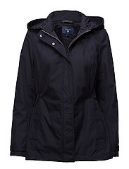 O2. SOFT SHELL PARKA - EVENING BLUE