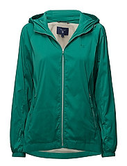 O1. WINDBREAKER - EMERALD GREEN