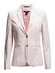 SATIN STRETCH BLAZER - NANTUCKET PINK