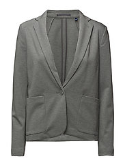 O. JERSEY BLAZER - LIGHT GREY MELANGE