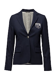 O2. CLUB BLAZER W BADGE - MARINE