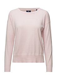 SOFT COTTON CASUAL CREW - LIGHT PINK