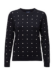 OP2. DOT JUMPER - EVENING BLUE