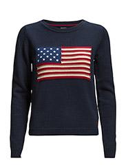 AMERICAN FLAG CREW - THUNDER BLUE