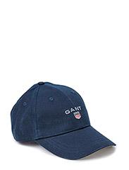 GANT TWILL CAP - NAVY