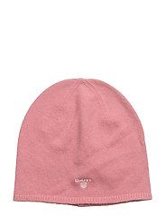 OP1. SOLID BEANIE - BRANDY APRICOT