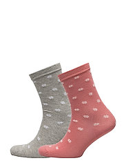 OP1. WINTER STAR SOCKS  BOX - BRANDY APRICOT