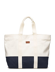 O2. BEACH BAG - OFFWHITE