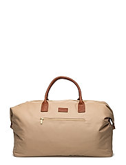 O1. SOLID WEEKEND BAG - DARK KHAKI