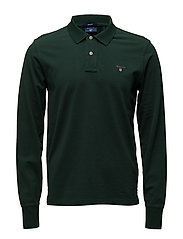 THE ORIGINAL PIQUE  LS RUGGER - TARTAN GREEN