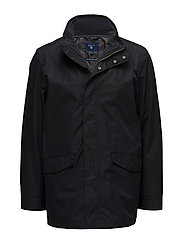 THE GANT DOUBLE JACKET - BLACK