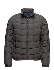 O1. THE LW CLOUD JACKET - CHARCOAL MELANGE