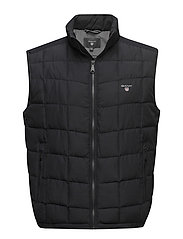 O1. THE LW CLOUD VEST - BLACK