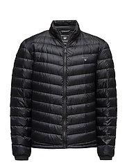 O1. THE AIRLIGHT DOWN JACKET - BLACK
