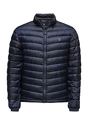 O1. THE AIRLIGHT DOWN JACKET - EVENING BLUE