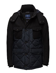 O2. THE HARBOUR PARKA - NAVY