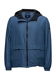 THE REFLECTIVE HOOD JACKET - YALE BLUE
