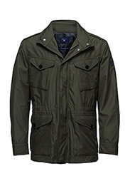 O2. THE LT WEIGHT FIELD JACKET - PINE GREEN