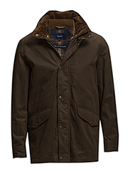 THE DOUBLE DECKER JACKET - RICH BROWN
