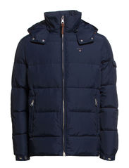 THE PREPPY DOWN JACKET - STORM BLUE