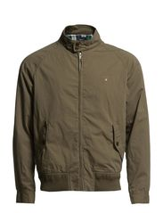 THE COLLEGE JACKET - JUNGLE GREEN