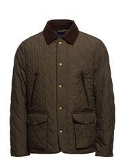E. THE HUNTER JACKET - FIELD GREEN