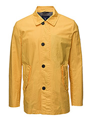 O1. THE COATED REEFER JACKET - MANGO