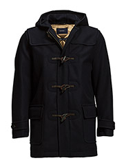 S. THE TOGGLER DUFFEL COAT - NAVY