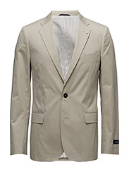 O1. THE COTTON TWILL BLAZER T - PUTTY