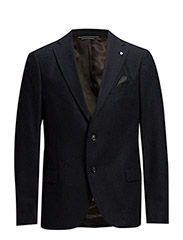 THE HERRINGBONE BLAZER T. - NAVY