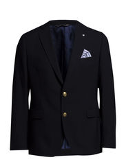 THE HOPSACK SPORTS JACKET 2BC - NAVY