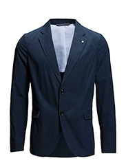 THE POPLIN BLAZER 2BW - EVENING BLUE