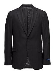 O2. THE SALT AND PEPPER BLAZER T. - BLACK