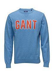 O1. GANT CREW - LAVA BLUE