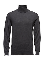 FINE MERINO TURTLE NECK