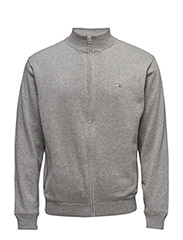 SPORT ZIP JACKET - GREY MELANGE
